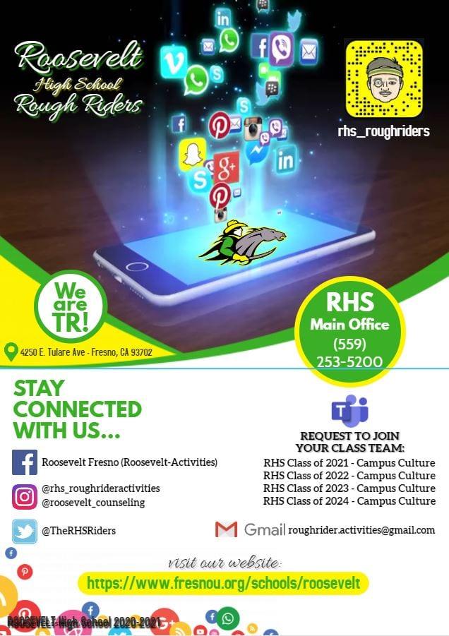 Rough Rider social media info