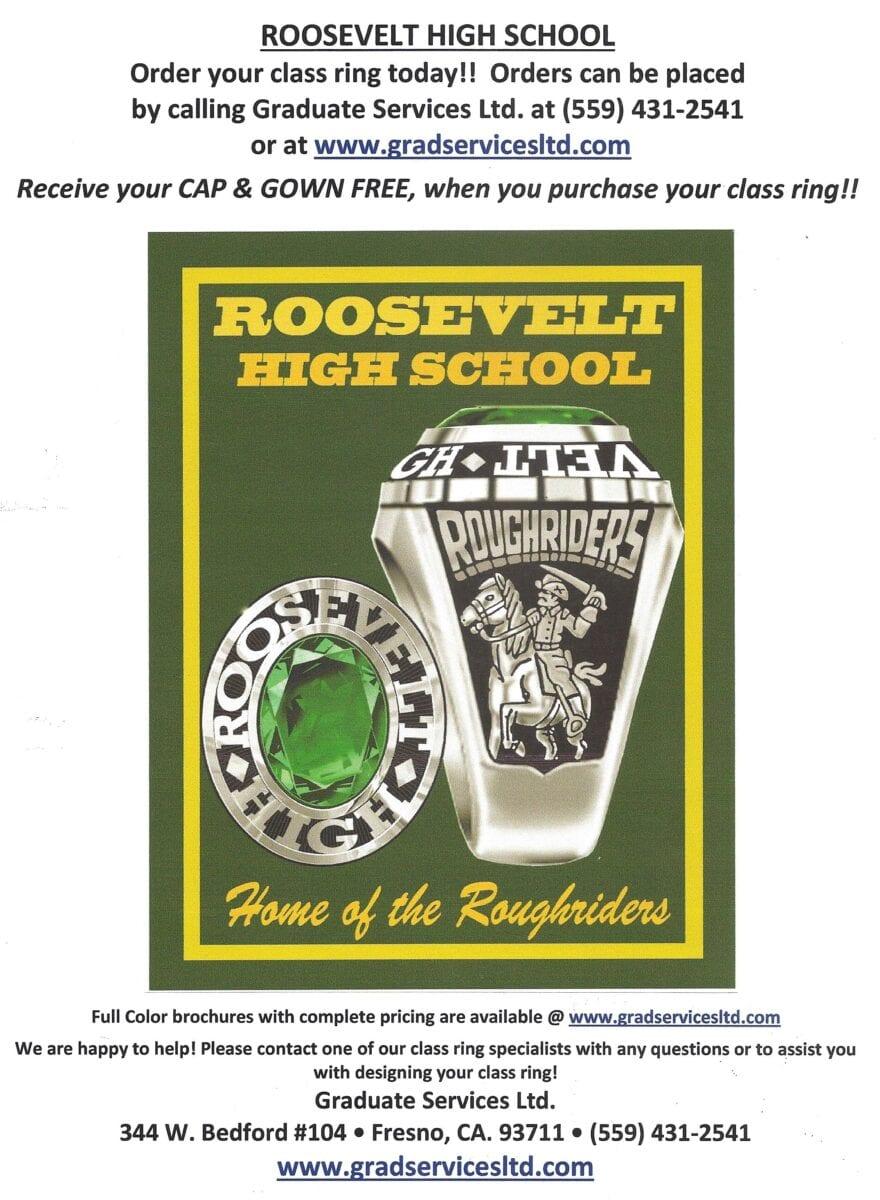 Order grad items at 559-431-2541