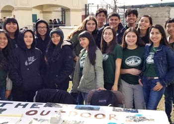 Group of Roosevelt students
